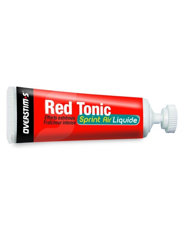 OVERSTIMS GEL RED TONIC SPRINT LIQUIDO MENTA