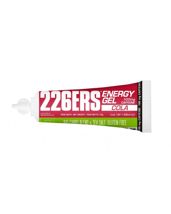 226ERS ENERGY GEL BIO 25G COLA 100MG CAFFEINE