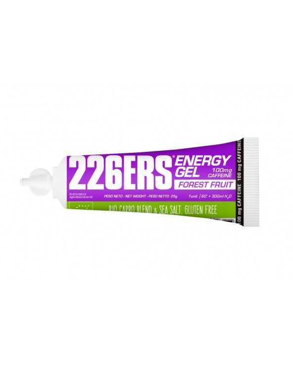 226ERS ENERGY GEL BIO 25G FOREST FRUIT 100MG CAF