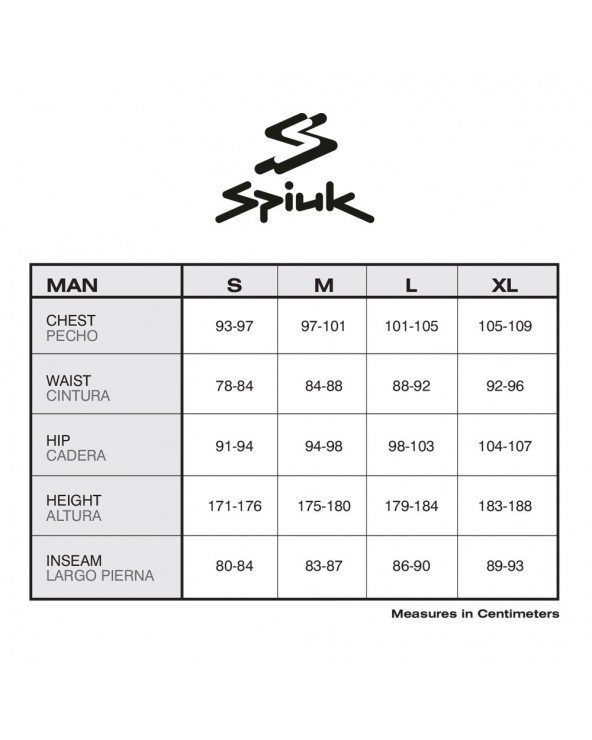 SPIUK TOP LONG DISTANCE HOMBRE NEGRO/NARANJA