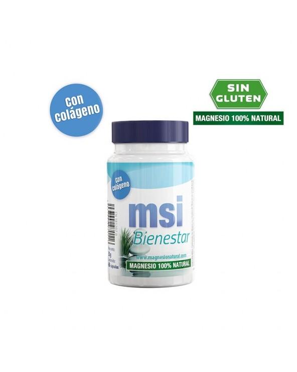 MSI BIENESTAR MAGNESIO 100% NATURAL + COLAGENO