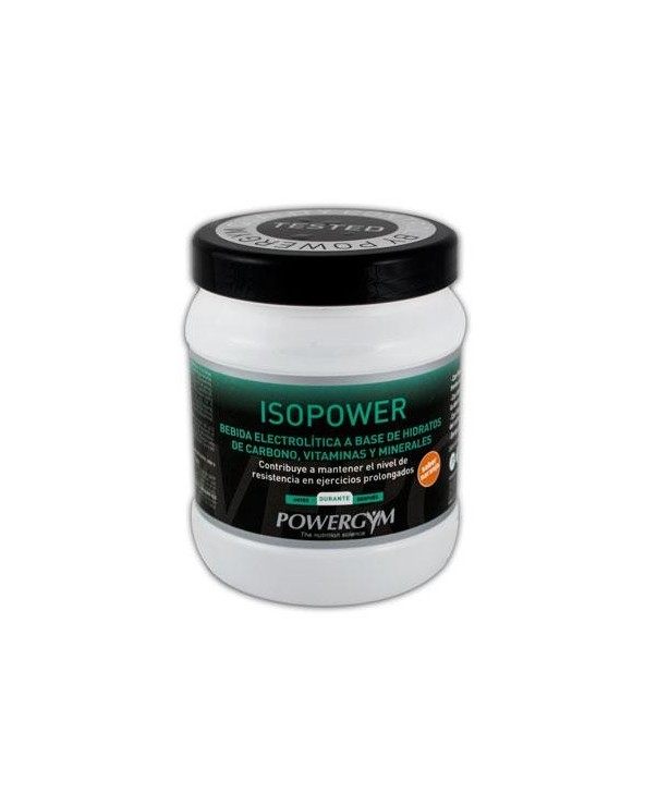 POWERGYM ISOPOWER 600 g. NARANJA