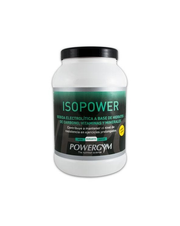POWERGYM ISOPOWER 600 g. LIMON