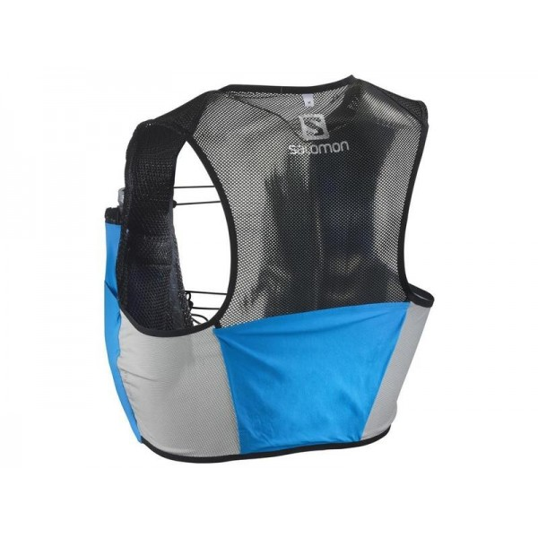 SALOMON MOCHILA S-LAB SENSE 2 SET AZUL