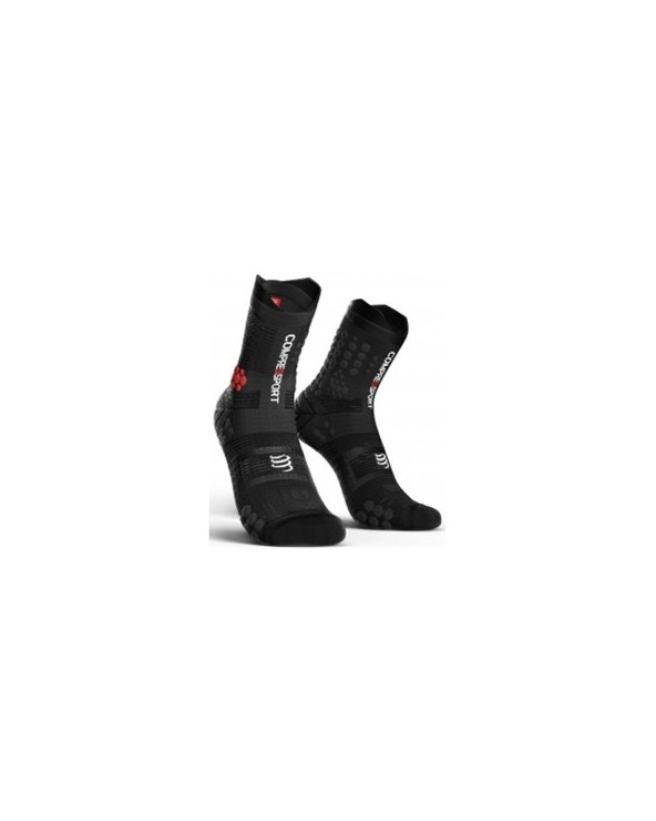 COMPRESSPORT SOCKS TRAIL V3 NEGRO