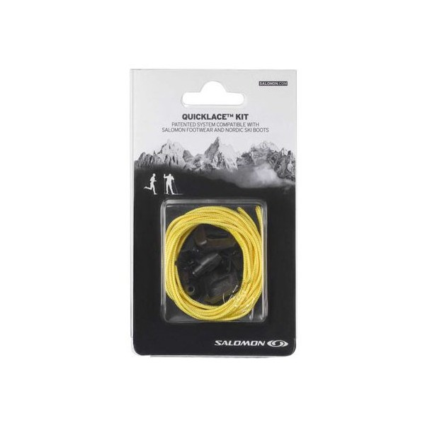 SALOMON QUICK LACES KIT AMARILLO