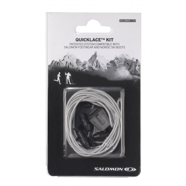 SALOMON QUICK LACES KIT GRIS