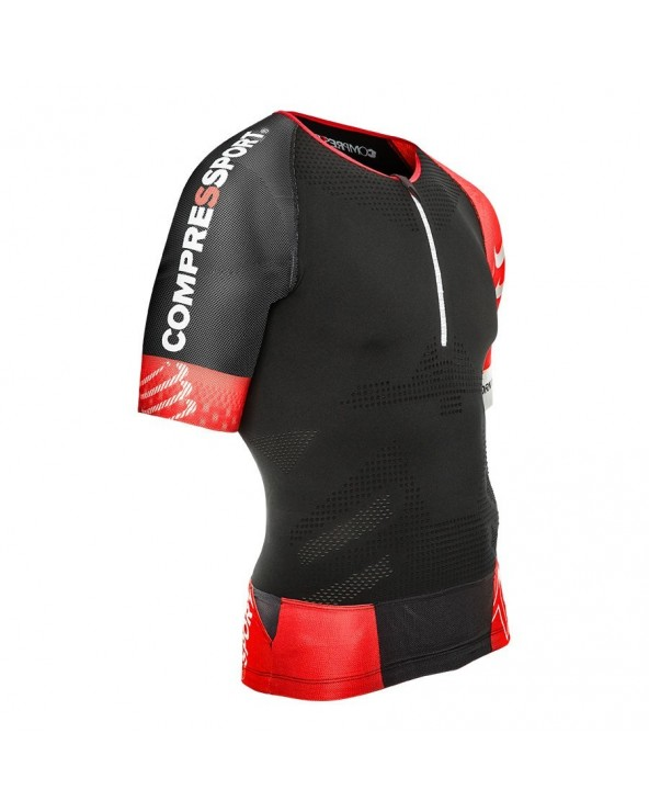 COMPRESSPORT CAMSIETA AERO TOP NEGRO