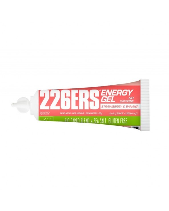 226ERS ENERGY GEL BIO 25G STRAWBERRY BANANA