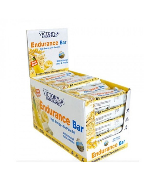 VICTORY ENDURANCE BAR PLATANO CHOCO BLANCO