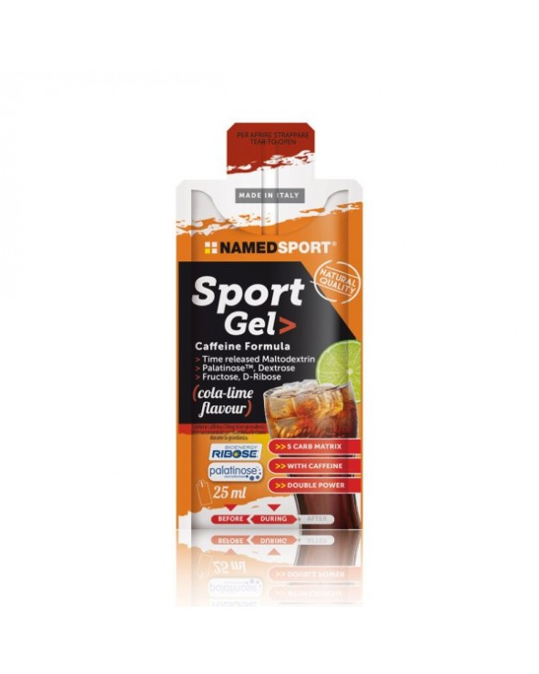 NAMEDSPORT GEL SPORT CAFFEINE COLA LIME 25 ML