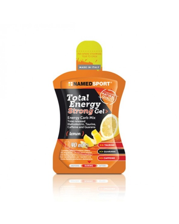 NAMEDSPORT GEL TOTAL ENERGY STRONG LIMON 40 ML