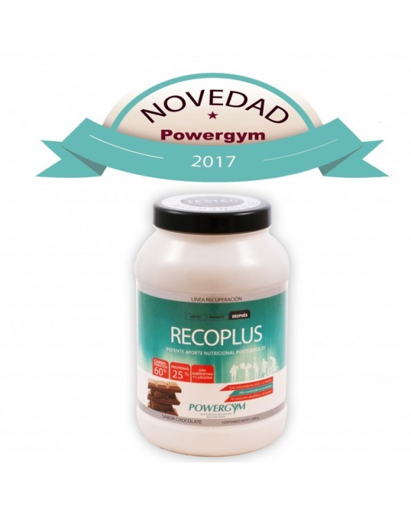 POWERGYM RECOPLUS SABOR CHOCOLATE 1200G