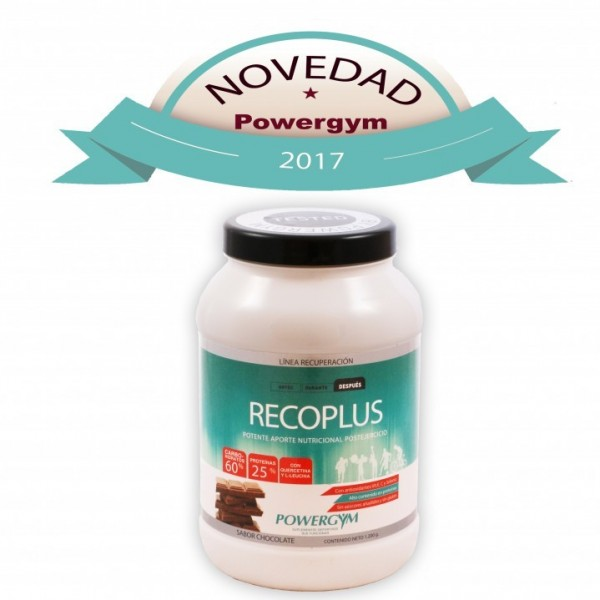 POWERGYM RECOPLUS SABOR CHOCOLATE 720G