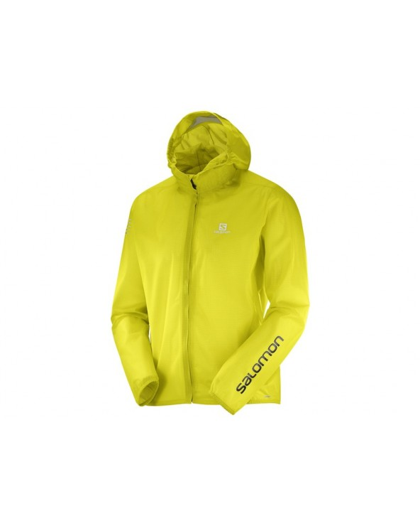 SALOMON BONATTI RACE JACKET SULPHUR
