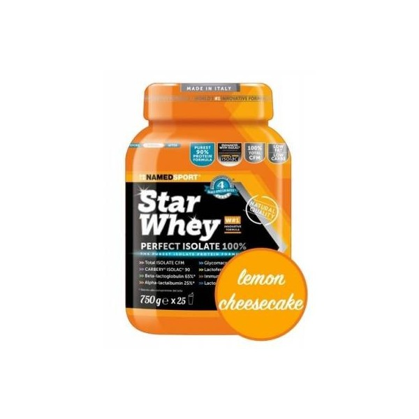 NAMEDSPORT STARWHEY ISOLATE SUBLIME CHEESECAKE