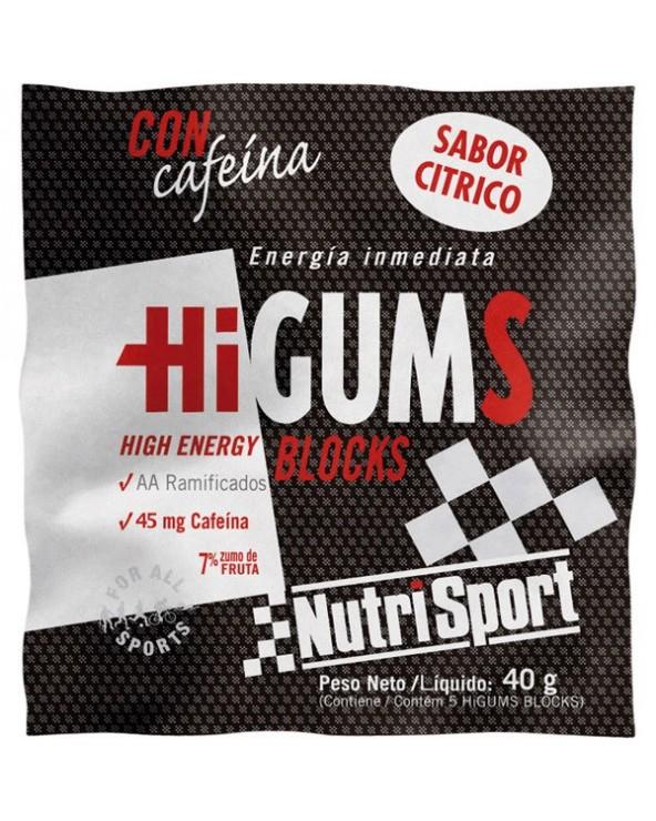NUTRISPORT HIGUMS CON CAFEÍNA SABOR COLA