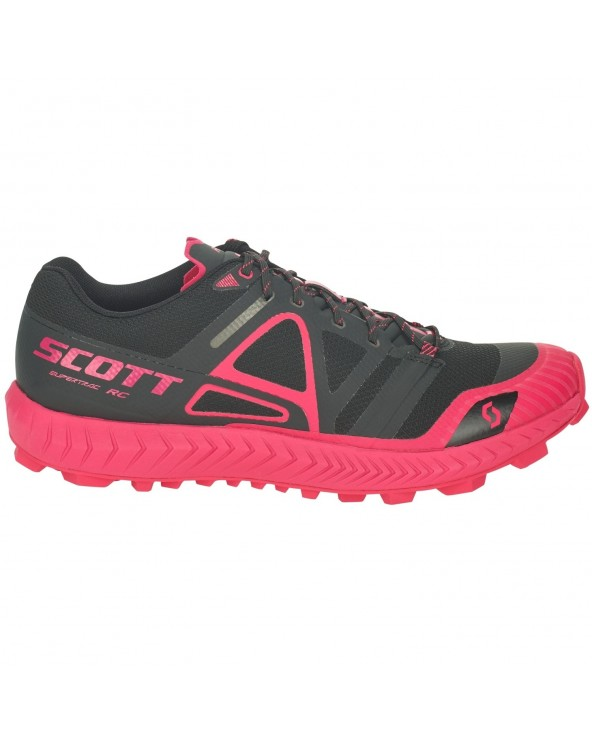 SCOTT SUPERTRAC RC WOMAN NEGRO / ROSA FLUOR