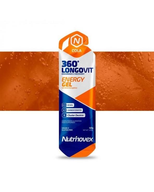 NUTRINOVEX LONGOVIT GEL COLA