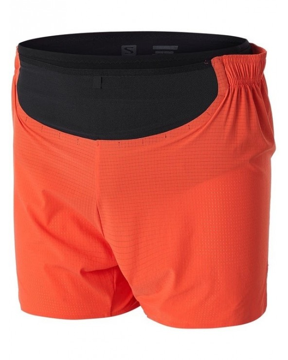 SALOMON SENSE PRO SHORT M CHERRY TOMATO/BLACK