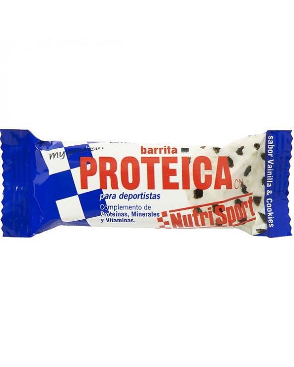 NUTRISPORT BARRITA PROTEICA VAINILLA