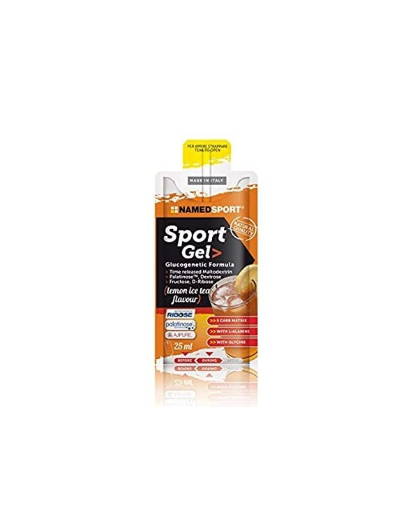 NAMEDSPORT GEL GLUCOGENIC LEMON ICE TEA 25ML