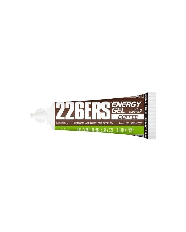 226ERS ENERGY GEL BIO 25G CAFE + 50 MG CAFEINA