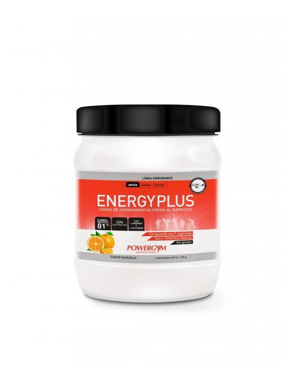 POWERGYM ENERGY PLUS 1.100KG NARANJA