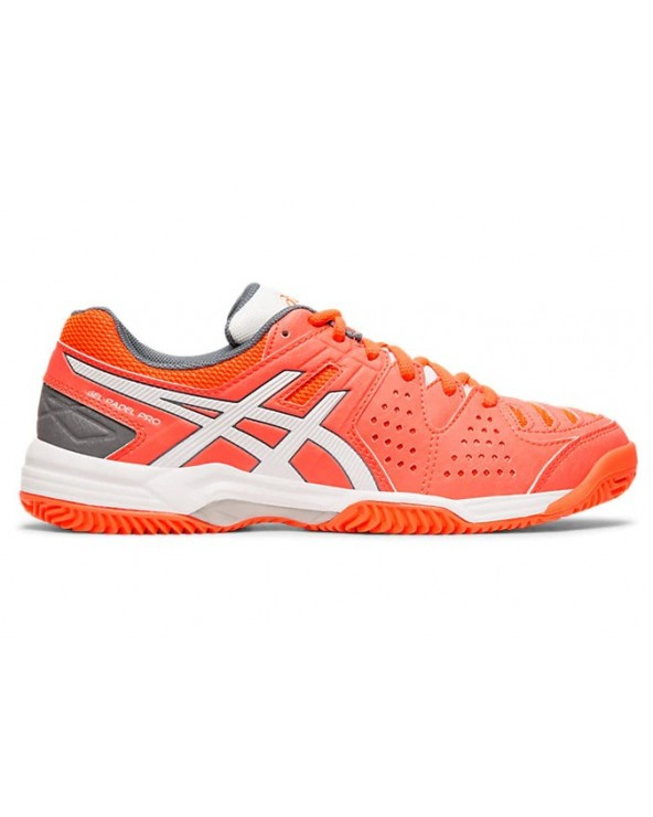 ASICS GEL-PADEL PRO 3 SG FLASH CORAL / WHITE