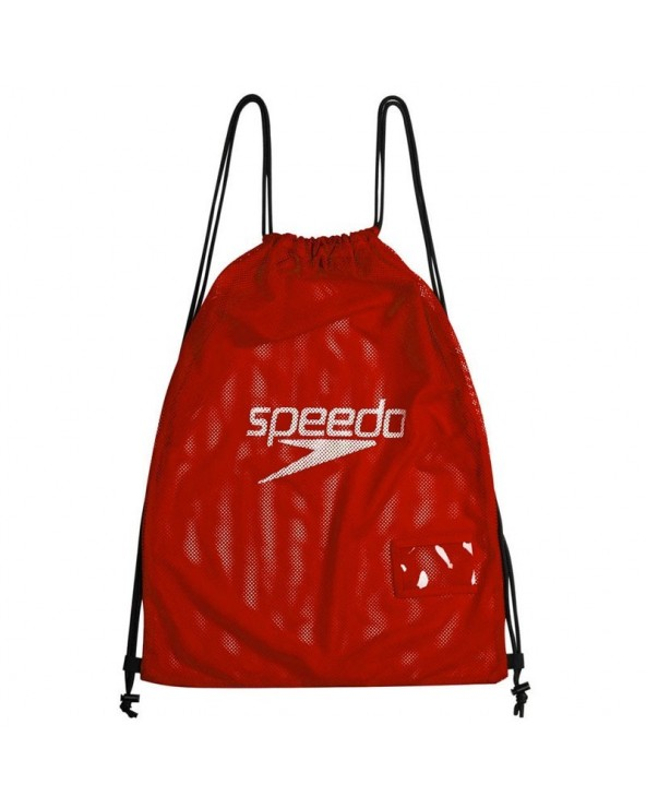 SPEEDO MESH BAG ROJO