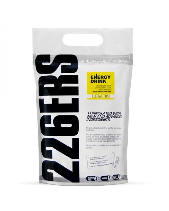 226ERS ENERGY DRINK 0.5KG LIMON