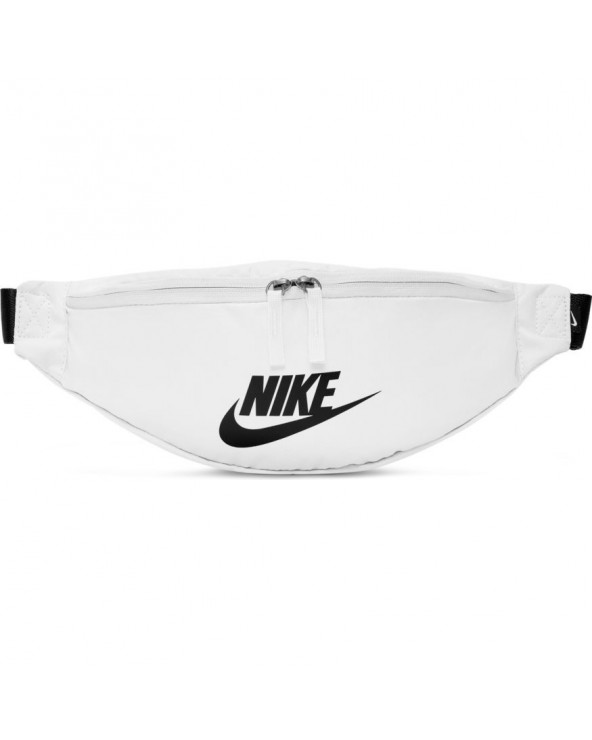 NIKE HERITAGE HIP PACK WHITE