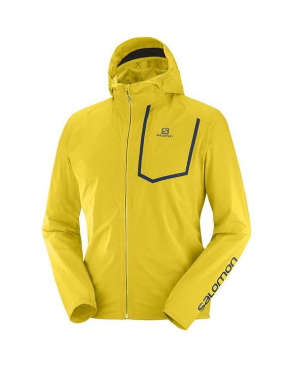 SALOMON BONATTI PRO WP JKT M lemon curry