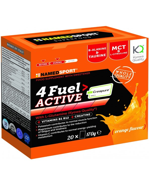 NAMEDSPORT 4FUEL ACTIVE 20 SOBRES ORANGE