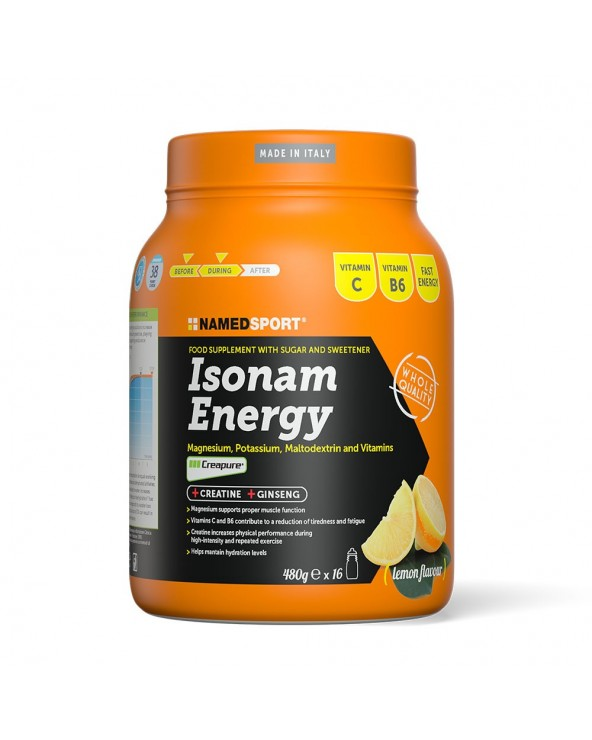 NAMEDSPORT ISONAM ENERGY LIMON 450G