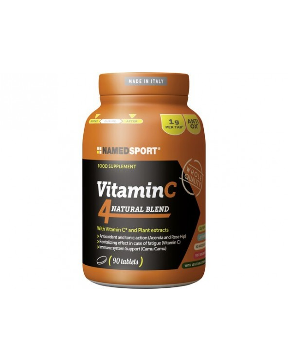 NAMEDSPORT VITAMIN C4 NATURAL 90 TABLETAS